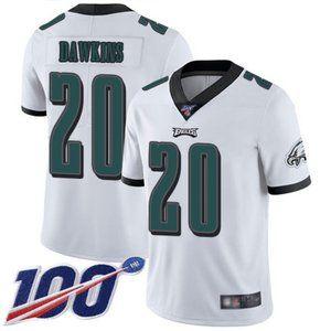 Eagles Brian Dawkins 100th Season Jersey 2
